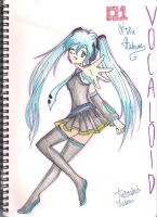 Miku Hatsune 01 - Vocaloid by AnImAtEd-MeDoW