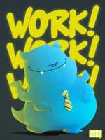 workworkwork monstah by bimzkimz