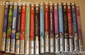 My Studio Ghibli Collection 2014 by CapitainSmiffy