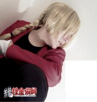 Edward Elric cosplay by YamiCecile