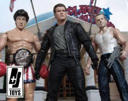 Before the Expendables by briqnbrakstoys
