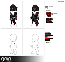 skulls of a solider design for crosstitch gaia by Lady-Seimeii