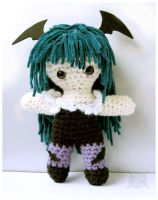 Morrigan Amigurumi by pirateluv