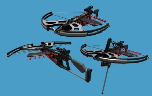 Multishot Crossbow by Warkom