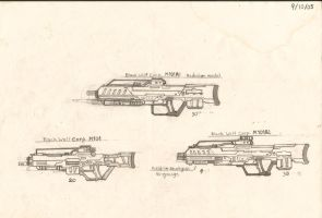 RedW0lf777sg's Eary Assault Rifles Designs by RedW0lf777sg