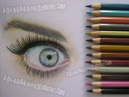 Katy Perry eye by A-D-I--N-U-G-R-O-H-O