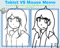 Tablet Vs Mouse by Youkah