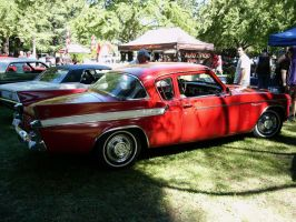 1961 Studebaker Hawk red and white delight by RoadTripDog
