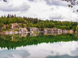 flooded quarry 15 by oosstock