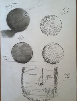 Doodles and Experiments with Blending Stumps by mysolublefish