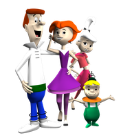 Jetsons Family Picture by peterhirschberg