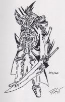 tribal knight 2 by RoyCorleone