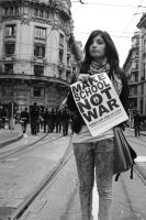 Make School, Not War- Emily by MicolSMorton
