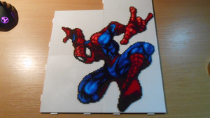 Spider-Man (Mini-Beads) by FTWBAmanojaku