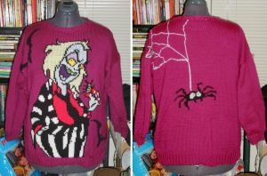 Beetlejuice Sweater by NeitherSparky