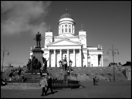 Helsinki Cathedral. by xchingx