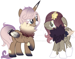 Star Chaser and Dream Keeper by Ponns