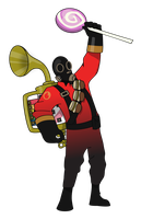 Pyro Vector by pikmin789