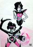 Mettaton/NEO by GhostQueen1312