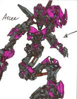 TF ROTF Arcee Ink by skywarpG1