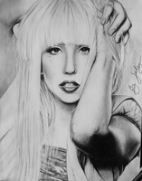 Lady Gaga by juley-art