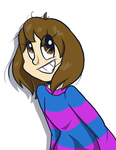 Here have a Frisk by Luckynight48