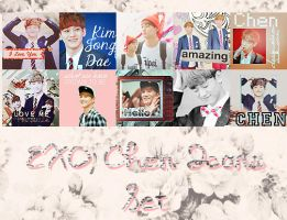 EXO Chen Icons Set by kamjong-kai