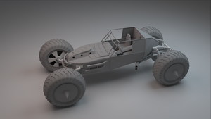 Sand Buggy w2 by betasector