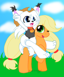 Comm: Giddy Up Pardner! MlP Style by AD-SD-ChibiGirl