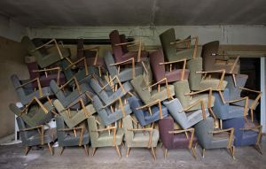 chairs over chairs by FatmeBondage