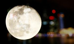 Sparkling moon by shuttershade