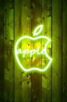 Apple Neon for iphone by LaggyDogg