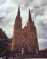 Saint Mary's Cathedral  by ofajardo81