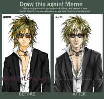 Meme: Draw this again--Ruki by xiaoyugaara