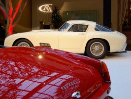 Ferrari 410 and 250 GT pair of pedigree stallions by Partywave