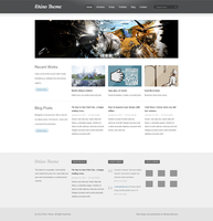 Rhino Theme Wordpress theme by bekyarov