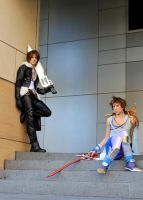 Lonely Run- Bartz X Squall Dissidia Cosplay by Detailed-Illusion