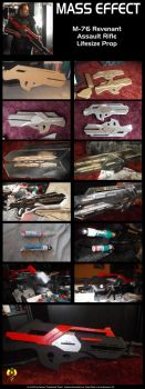 MASS EFFECT M-76 Revenant Prop by Euderion