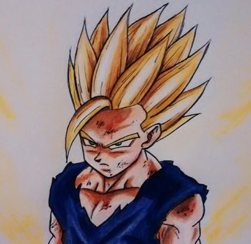 Son gohan dragon ball collection favourites by - Son gohan super saiyan 4 ...