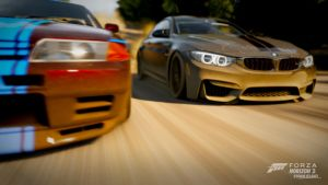 BMW M4 and Nissan R32 by RZ-028-Hellblaze