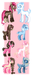 Breedable set by Mellow-bunnii