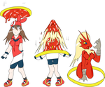 Ring of transformation May to Blaziken by SkyspearDraw