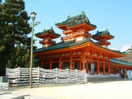 Heian Shrine by hitokirivader