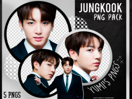 PNG PACK: JungKook (BTS) #12 by Yumi-chan19