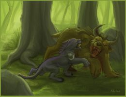 Feral Druids by tigon