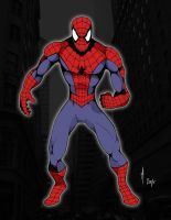 Spiderman by blastomanfreddy