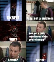 Foxy snickers meme by hopelessromantic13