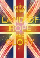 Land of hope and glory poster by Will-of-the-spurr