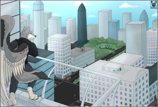 City Heights by Wolfool