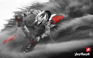 Dirt Thirst Motocross wallpape by thinkLuke